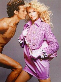 Claudia Schiffer - Versace Photography - Richard Avedon