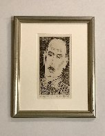 Head of a Man, Portrait of Louis Wiesenberg the Artist AP Limited Edition Print by Milton Avery - 1