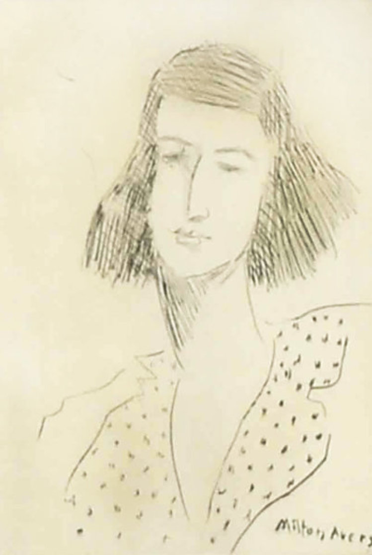 Rosalie 1939 Limited Edition Print by Milton Avery