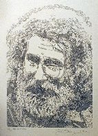 Jerry Garcia, Portrait 2013 Limited Edition Print by Guillaume Azoulay - 1