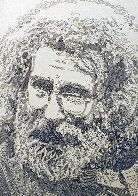 Jerry Garcia, Portrait 2013 Limited Edition Print by Guillaume Azoulay - 0