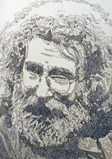 Jerry Garcia, Portrait 2013 Limited Edition Print - Guillaume Azoulay