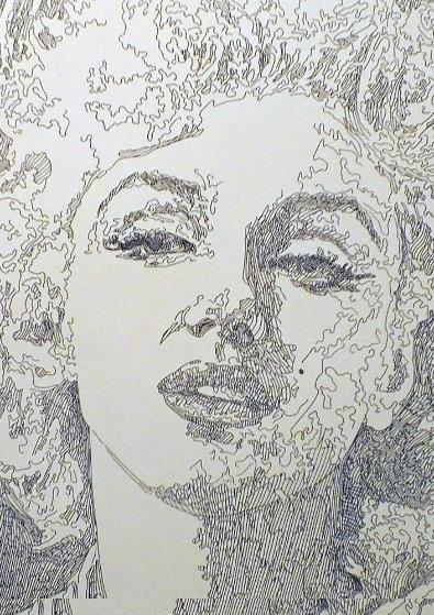 Norma Jean - Marilyn Monroe 2013 Limited Edition Print by Guillaume Azoulay
