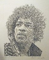 Kiss the Sky, Jimi Hendrix 2013 Limited Edition Print by Guillaume Azoulay - 1