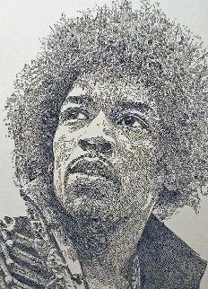 Kiss the Sky, Jimi Hendrix 2013 Limited Edition Print by Guillaume Azoulay