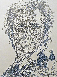 Go Ahead, Make My Day, Clint Eastwood 2013 Limited Edition Print - Guillaume Azoulay