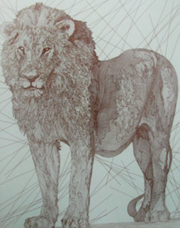 Le Leon AP 2004  Limited Edition Print by Guillaume Azoulay
