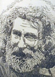 Jerry Garcia, Portrait 2013 Limited Edition Print by Guillaume Azoulay