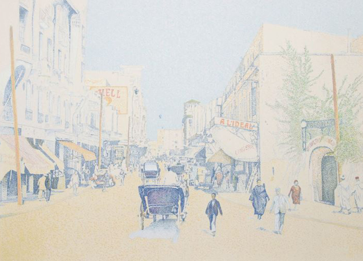 Rue De L'Horlodge Limited Edition Print by Guillaume Azoulay