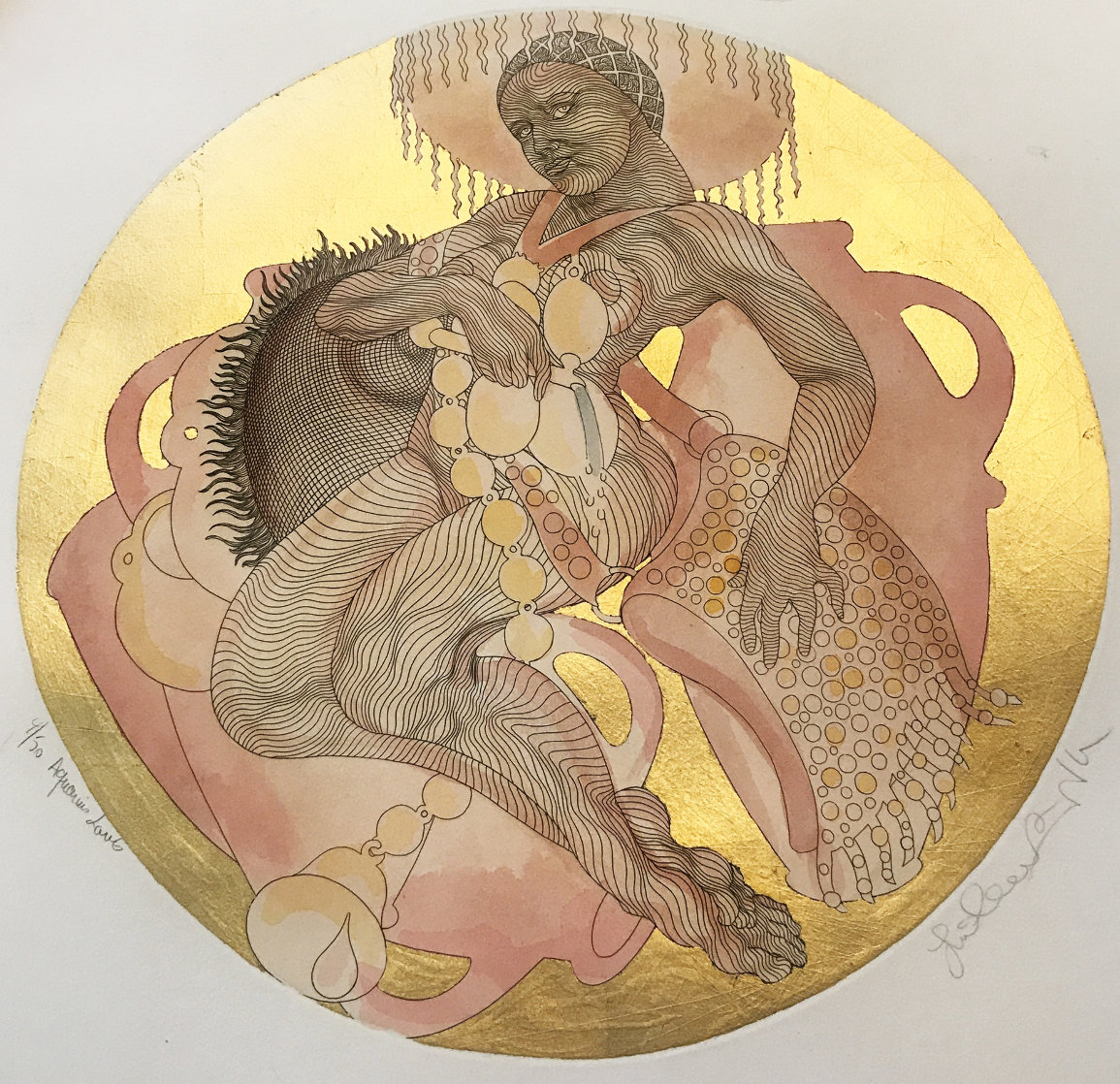 Aquarius Lavis 1995 Limited Edition Print by Guillaume Azoulay
