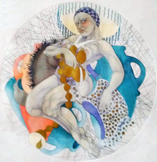 Aquarius 1989 Limited Edition Print - Guillaume Azoulay