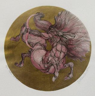 Sagittarius Lavis Limited Edition Print - Guillaume Azoulay