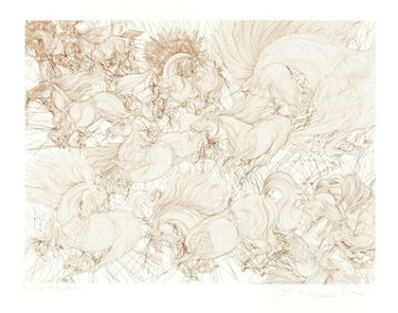 Onze Chevaux 2007 Limited Edition Print by Guillaume Azoulay