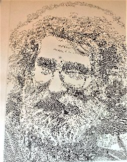 Jerry Garcia 2015 18x16 Drawing - Guillaume Azoulay