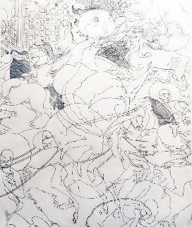 Balance Drawing 1997 31x27 Drawing - Guillaume Azoulay