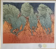 Andante II 1980 with 2 Remarques Double Signed Limited Edition Print by Guillaume Azoulay - 2