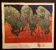 Andante II 1980 with 2 Remarques Double Signed Limited Edition Print by Guillaume Azoulay - 1
