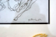Sketch Pour Encounter Progression 2007 Drawing by Guillaume Azoulay - 1