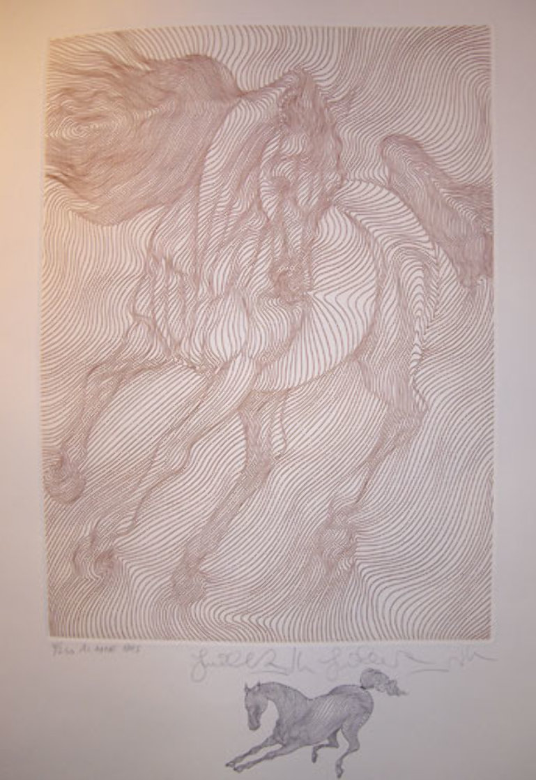Al Amir with Remarque 1995 Limited Edition Print by Guillaume Azoulay