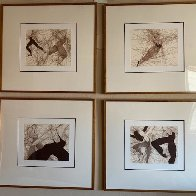 Dance in the Making 1979: Suite of 4 Limited Edition Print by Guillaume Azoulay - 5
