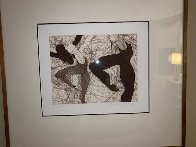Dance in the Making 1979: Suite of 4 Limited Edition Print by Guillaume Azoulay - 1