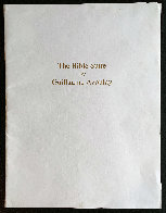 Bible Suite (Portfolio of 10 Prints) Limited Edition Print by Guillaume Azoulay - 15