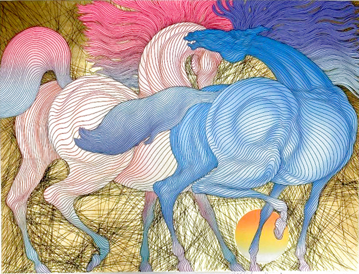 Tryst w/ Remarque 2007 Limited Edition Print by Guillaume Azoulay