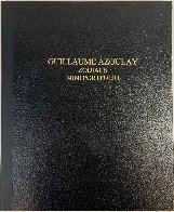 Hard Cover Black Portfolio Zodiac Suite, Embellished Portfolio of 12 Zodiac Signs Limited Edition Print by Guillaume Azoulay - 12