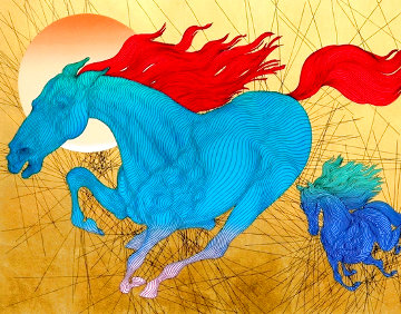 Equus AP 2006 Limited Edition Print - Guillaume Azoulay