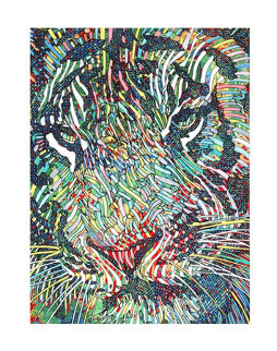 Tigris II Limited Edition Print by Guillaume Azoulay