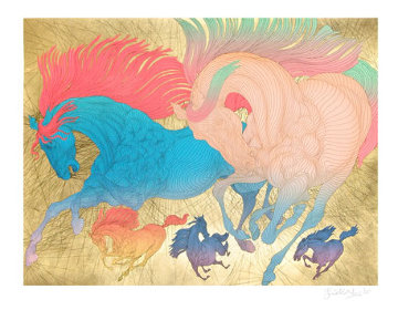 Progression 45x36 Huge  Limited Edition Print - Guillaume Azoulay