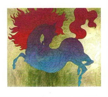 Le Cheval Illustre / Illustrated Horse Limited Edition Print - Guillaume Azoulay