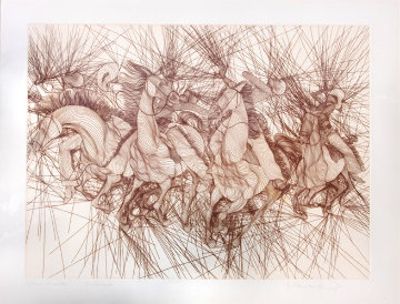 Embuscade 1981 Limited Edition Print - Guillaume Azoulay