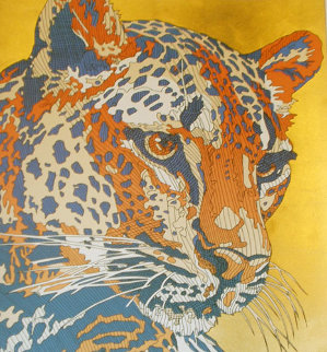 Les Grands Matous Suite of 4 Matching AP ME #s Limited Edition Print by Guillaume Azoulay