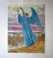 Angel and Joshua (State II) Limited Edition Print by Guillaume Azoulay - 1