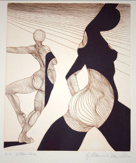Silhouettes Limited Edition Print - Guillaume Azoulay