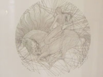Museum Gold Portfolio of 1 Drawing and 3 Serigraphs Limited Edition Print by Guillaume Azoulay