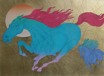 Equus 2006 24x40 Super Huge Limited Edition Print - Guillaume Azoulay