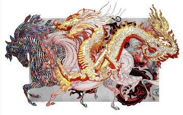 Le Dragon D'Or 2012 Limited Edition Print by Guillaume Azoulay