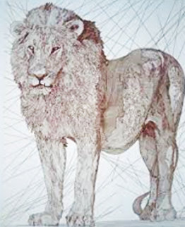 Le Lion 2004 Limited Edition Print by Guillaume Azoulay
