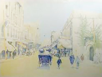 Rue De l' Aorlge 2004 Limited Edition Print by Guillaume Azoulay