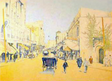 Rue De l'Aorlge 2004 Limited Edition Print - Guillaume Azoulay