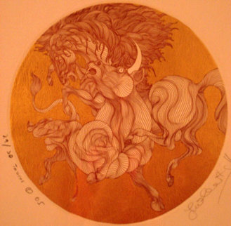 Taurus 2005 Limited Edition Print by Guillaume Azoulay