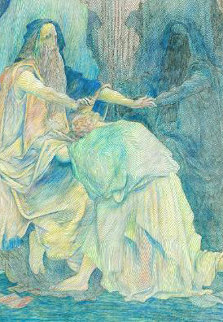 Blessings D. Dore  Limited Edition Print by Guillaume Azoulay