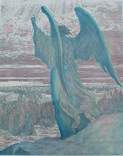 Angel And Joshua, Dore Limited Edition Print - Guillaume Azoulay