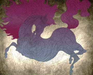 Le Cheval Illustre 2006 Limited Edition Print - Guillaume Azoulay