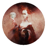 Judith 2001 43x43 Huge Original Painting by Anne Bachelier - 1