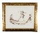 Promenade Sur Un Fil D'or 2003 30x37 Works on Paper (not prints) by Anne Bachelier - 1