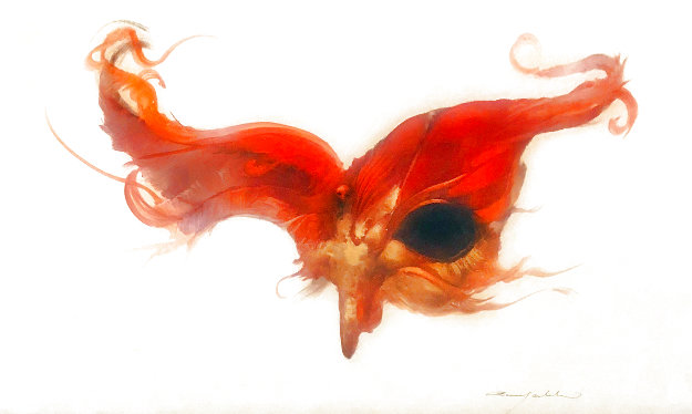 Untitled 2004 26x17 Works on Paper (not prints) by Anne Bachelier