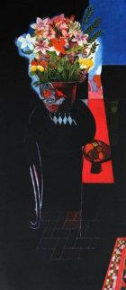 Cuernavaca Lilies 1998 Limited Edition Print by Walter Bachinski